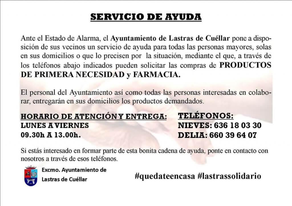servicio de ayuda Ayuntamiento