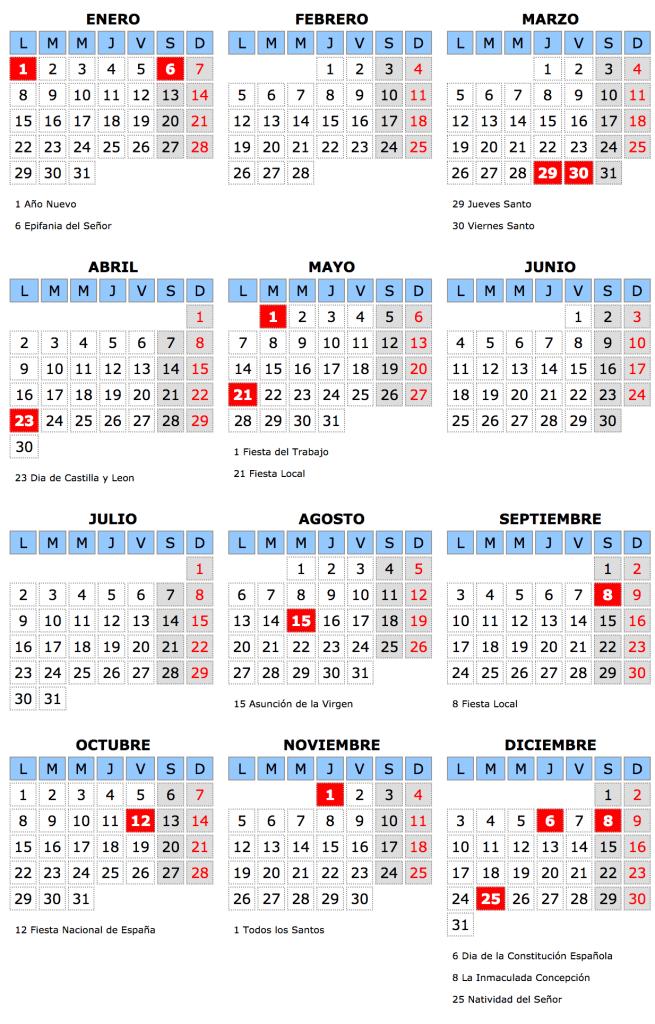 calendario-laboral-2018-lastras-de-cuellar