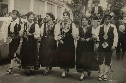 Día de la Provincia de Segovia, Cuéllar 1961, Grupo de Lastras de Cuéllar