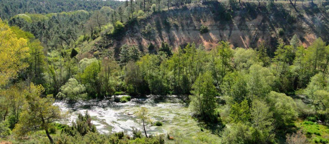 ribera rio cega lastras de cuéllar