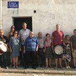Homenaje del pueblo de Lastras a Ignacio Sanz y al Tio Cerillas y Tio Mariano
